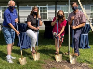 The Cove Groundbreaking Project Kickoff