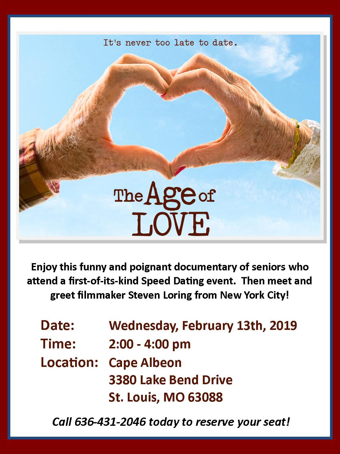 Cape Albeon hosts The Age of Love