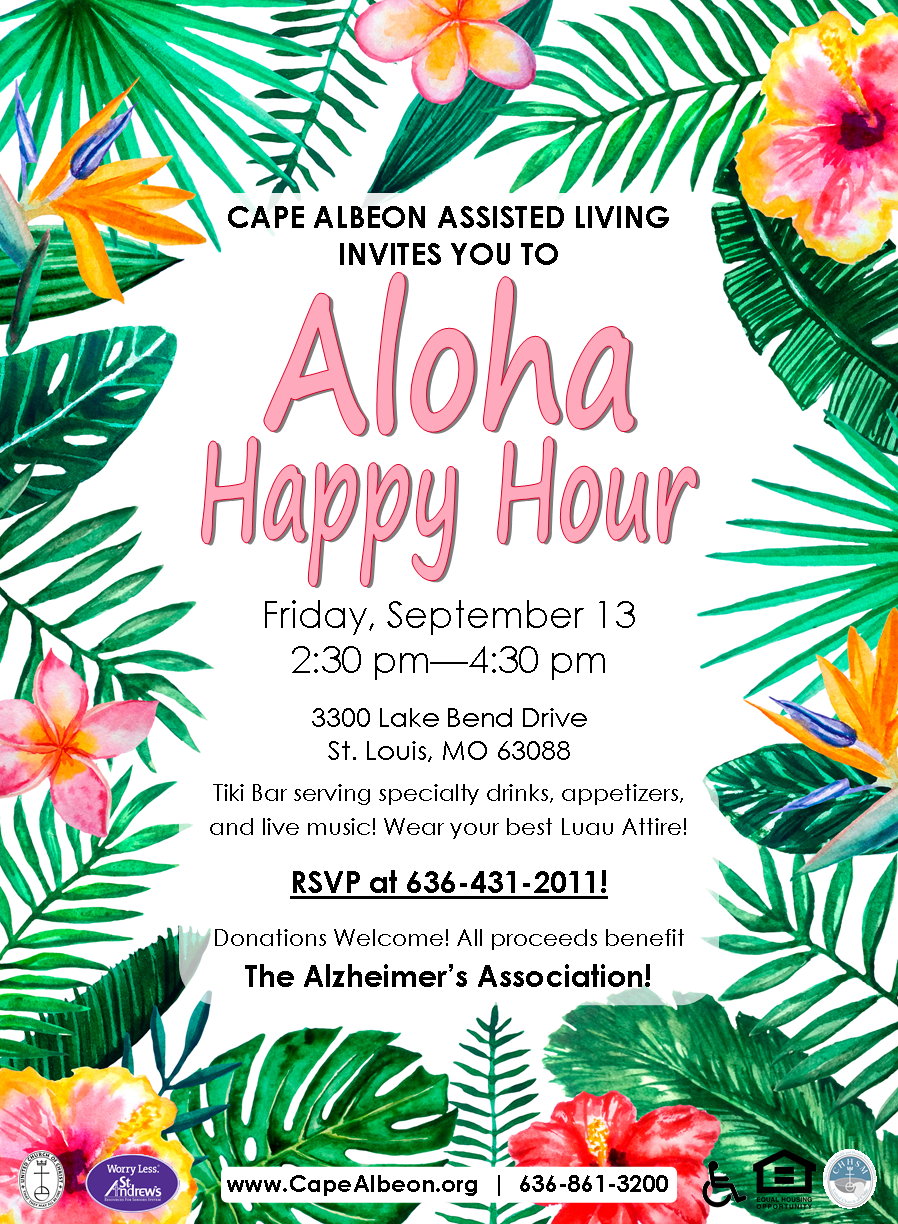 Cape Albeon hosts Aloha Happy Hour
