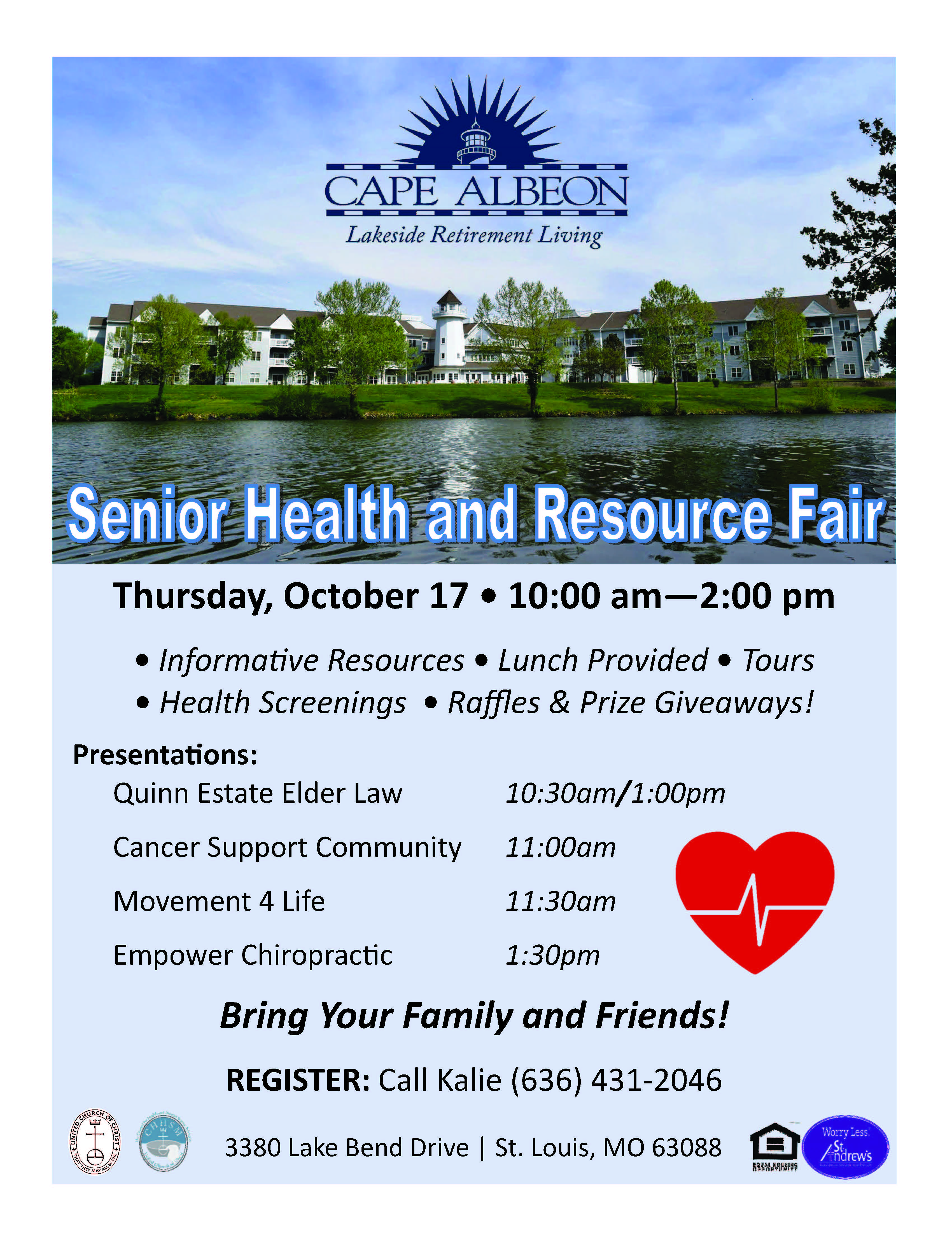 Cape Albeon hosts Senior Resource Fair 2019  St. Louis