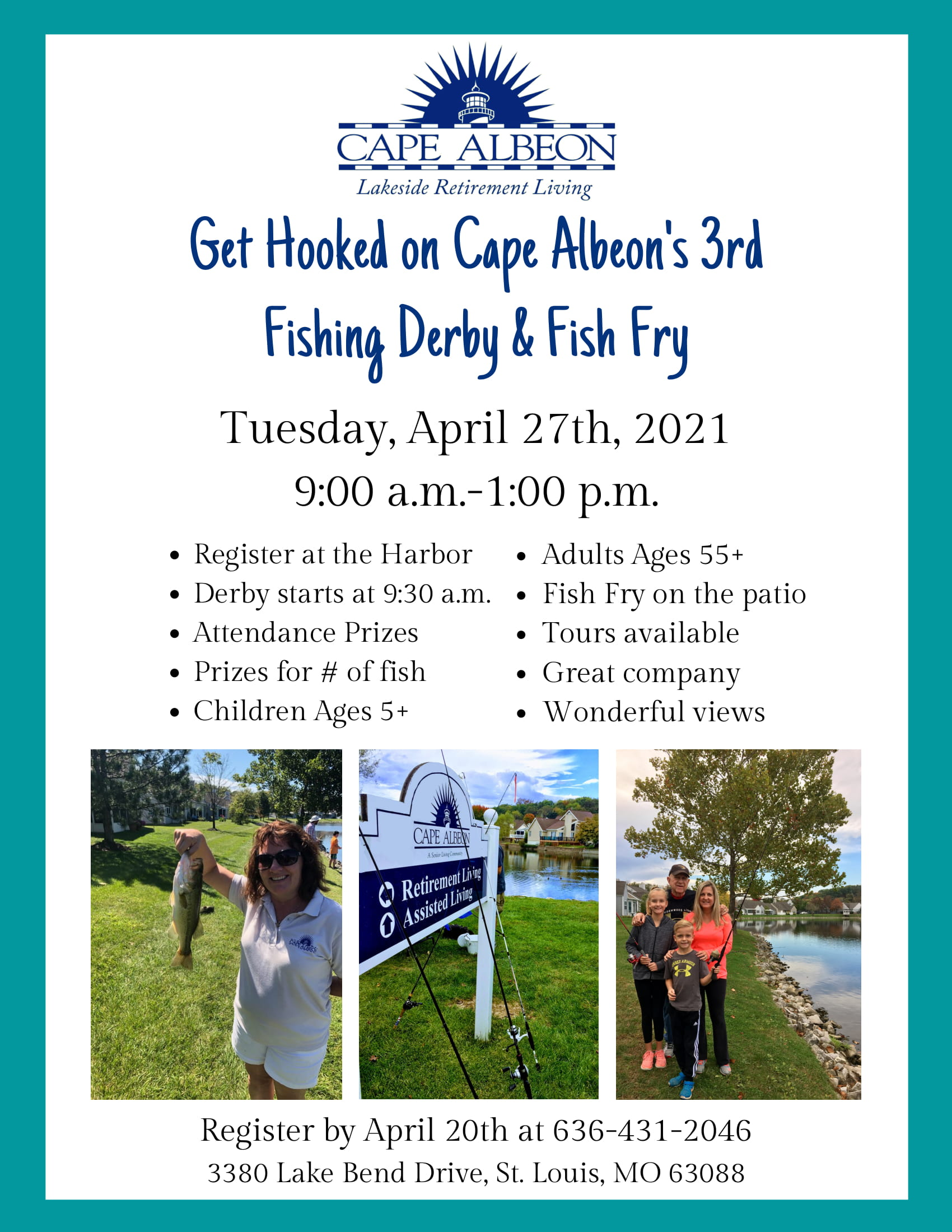 Cape Albeon hosts 3rd Fishing Derby & Fish Fry St. Louis