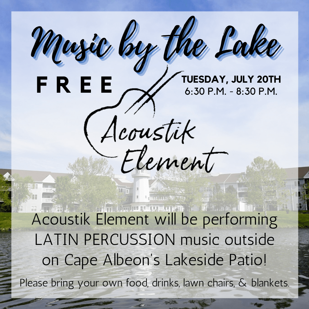 Cape Albeon Hosts Music by the Lake - Latin Percussion in St. Louis